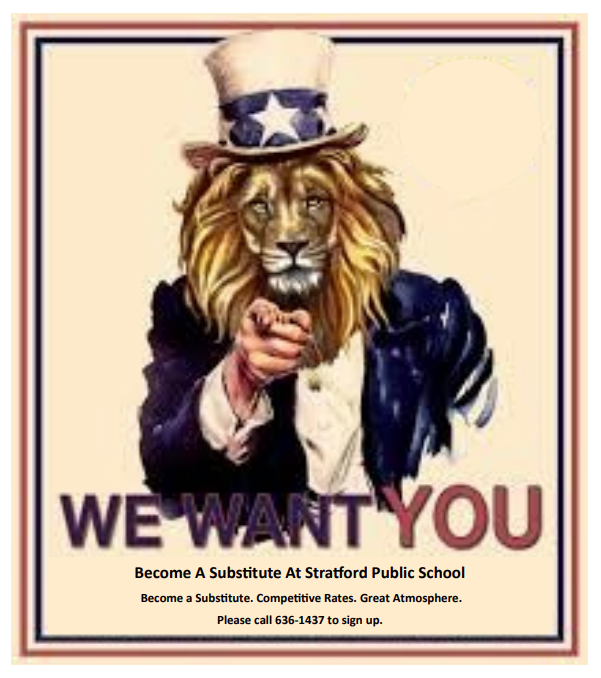 SPS is looking for substitute teachers.